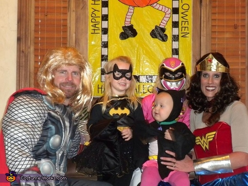 Super Hero Family Costume