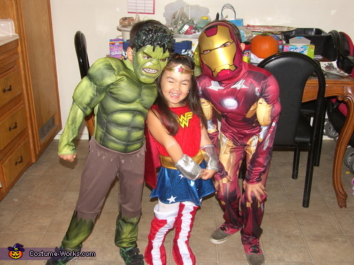 Super Heroes Costumes