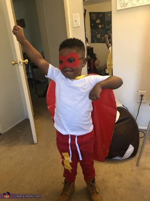 Super Jax Homemade Costume