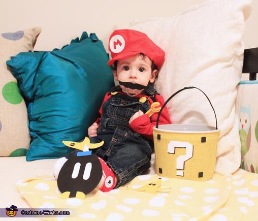 Super Mario Baby Costume
