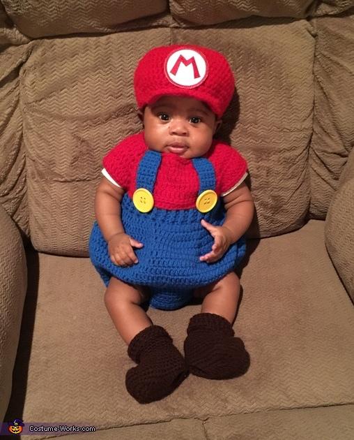 Super Mario Costume  sc 1 st  Costume Works & Super Mario Baby Costume