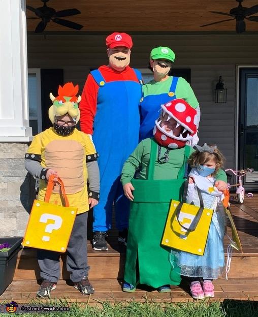 Super Mario Brothers Costume