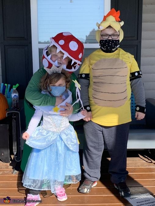 Bowser, Piranha Plant, and Rosalina, Super Mario Brothers Costume