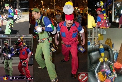 Super Mario Ghostbusters Costume