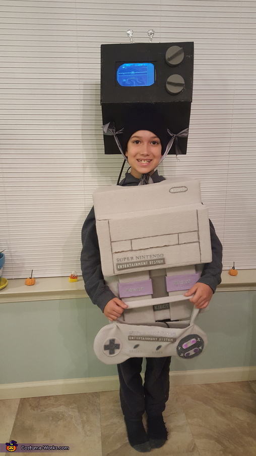 Super Nintendo Costume