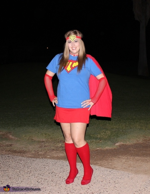 Super Pi Woman Costume