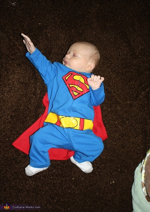 Superbaby Halloween Costume