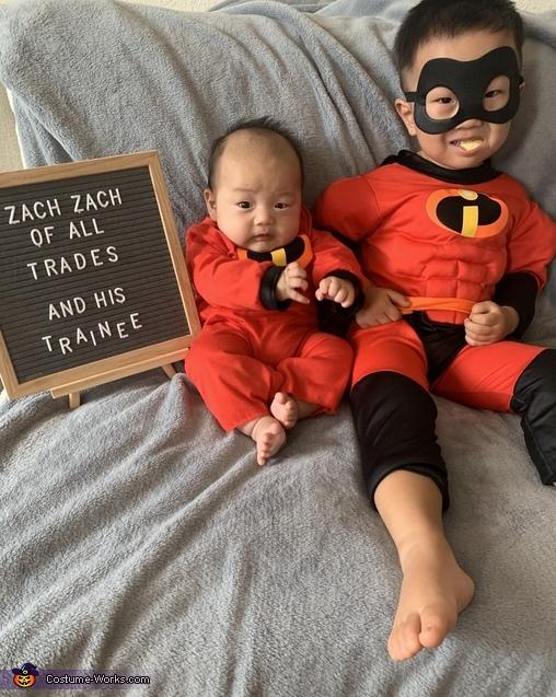 Superhero and Sidekick Costume