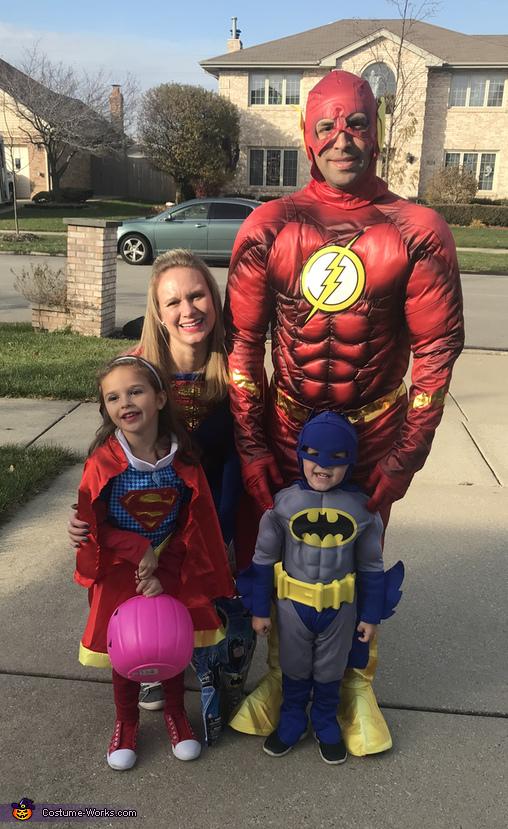Superhero Family Costume