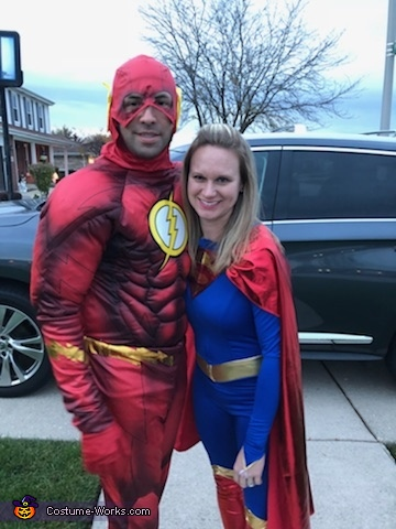 Here we come to save the day!, Superhero Family Costume
