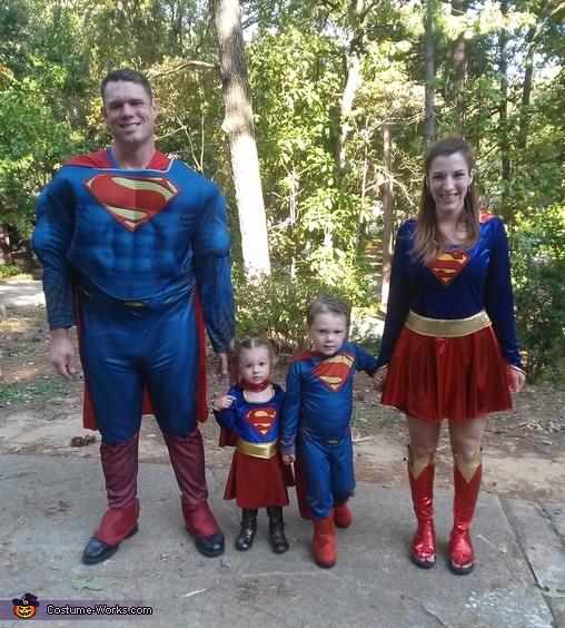Superhero Family Costumes