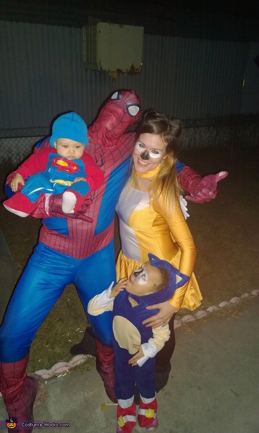 Superhero family, Superhero Family Costume