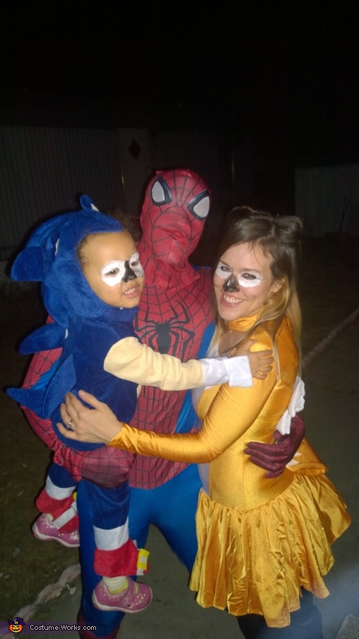 Superhero Family Costume  sc 1 st  Costume Works & Superhero Family Halloween Costume - Photo 5/5