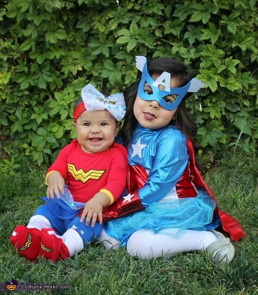 Superhero Sisters Costume
