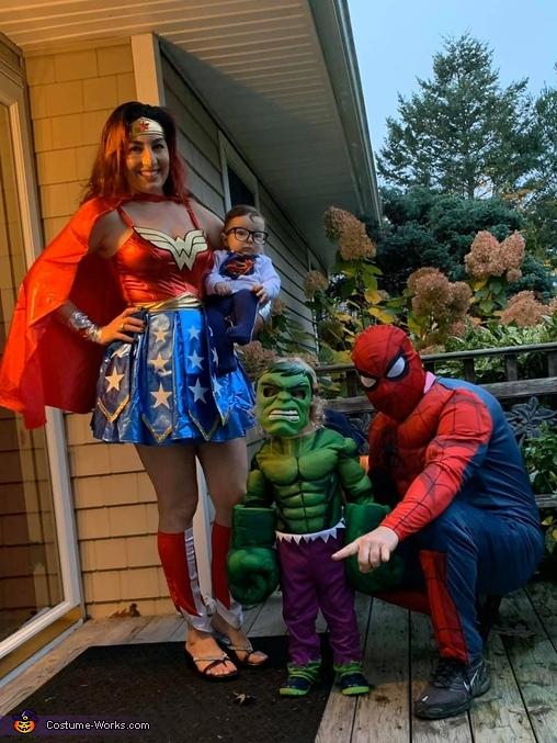 Superheroes Unite! Costume