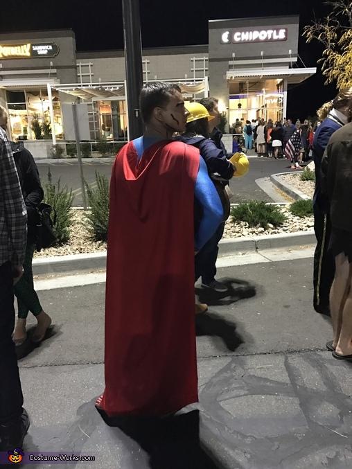 Superman Homemade Costume