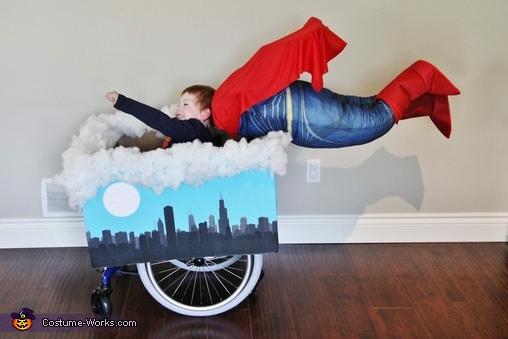 Superman Wheelchair Costume