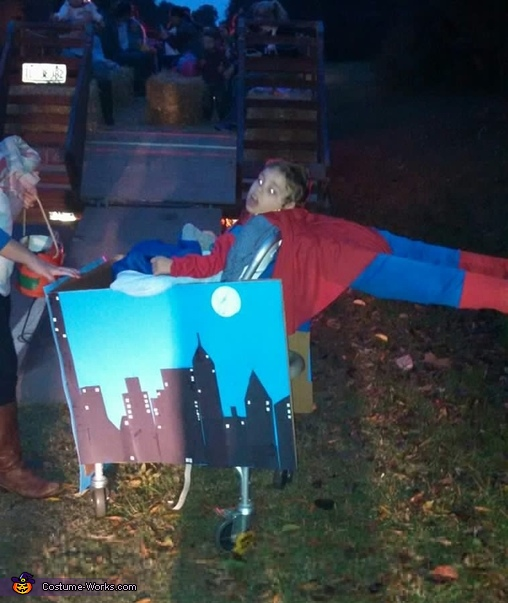 Superman Homemade Costume