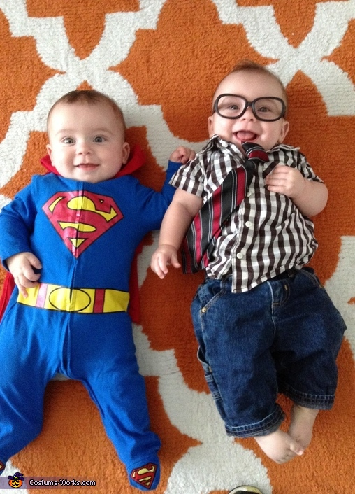 Superman and Clark Kent Baby Costume  sc 1 st  Costume Works & Superman and Clark Kent Baby Costumes