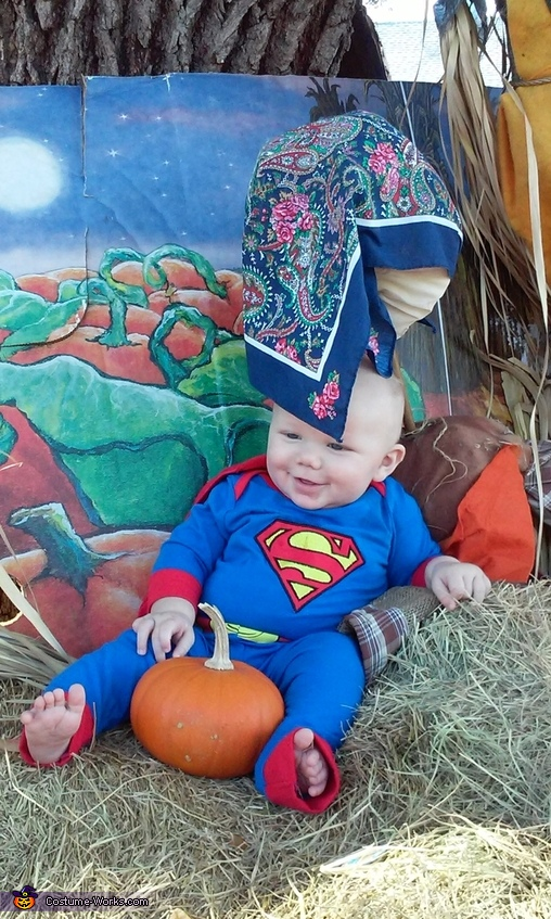 Superman Baby Halloween Costume