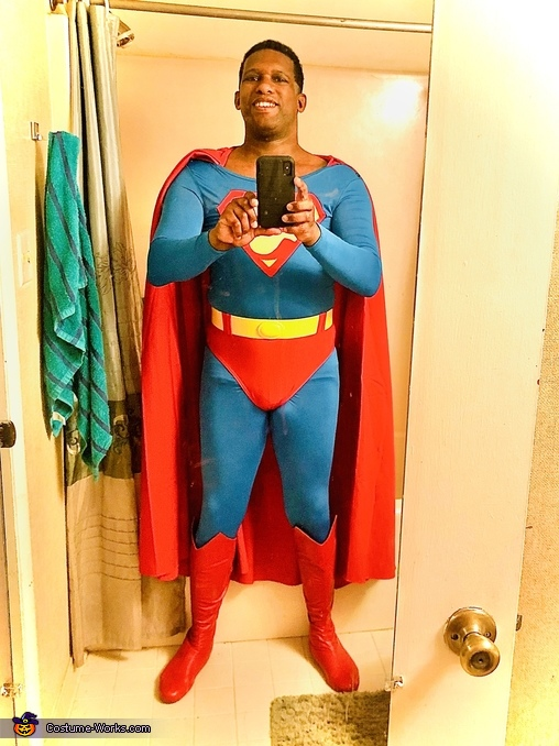 Superman Christopher Reeve Style Costume