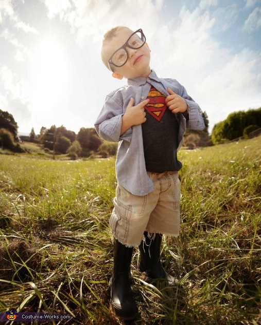 Superman Clark Kent Costume
