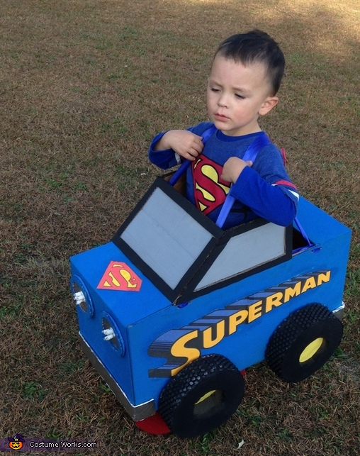 Superman Monster Truck Costume
