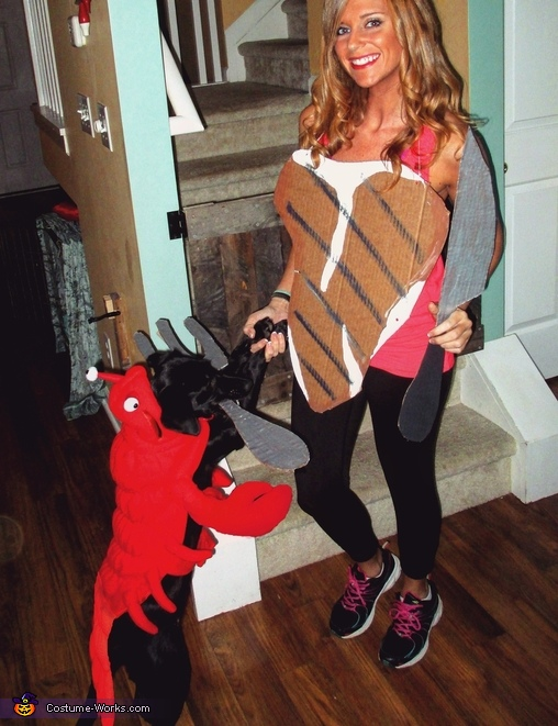 Surf and Turf Costume