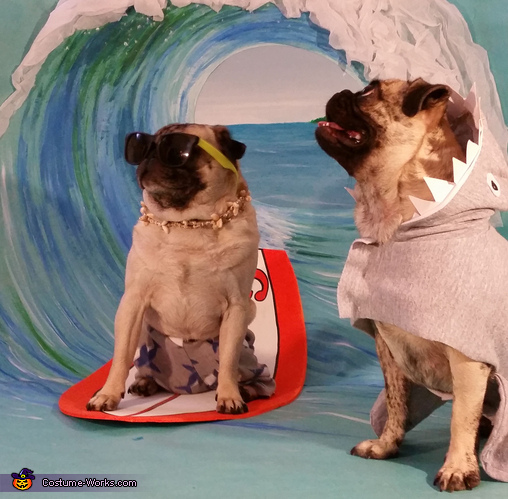 Surfer Pugs Costume