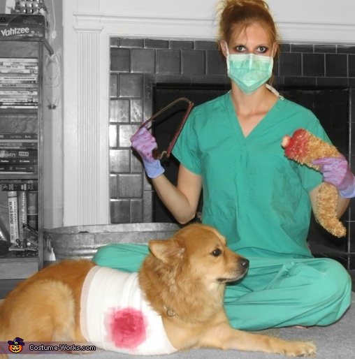 Surgery Gone Wrong Pets Costume