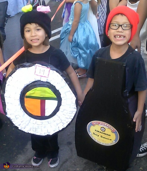 Sushi and Soy Sauce Costume