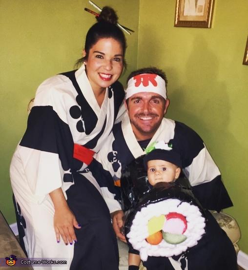 Sushi Baby Costume