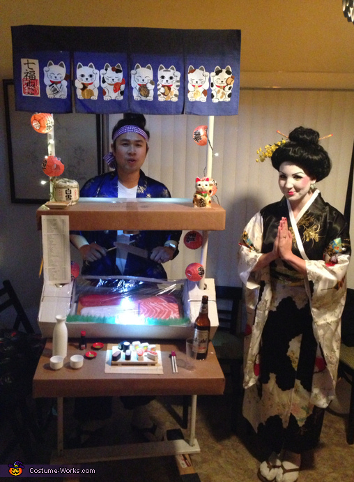 Sushi Bar Couples Costume