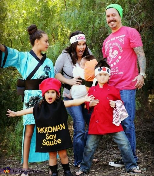 Sushi Family Costume