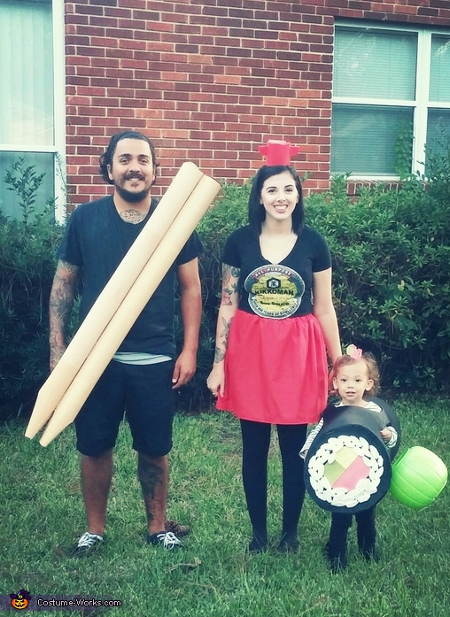 Sushi Plate Costume