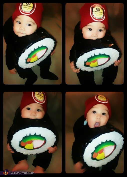 Sushi Roll Baby Costume