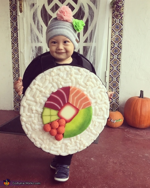 Diy Sushi Roll Baby Costume