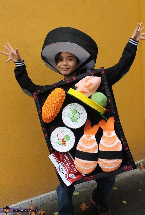 Hooray for Sushi Tray Costume