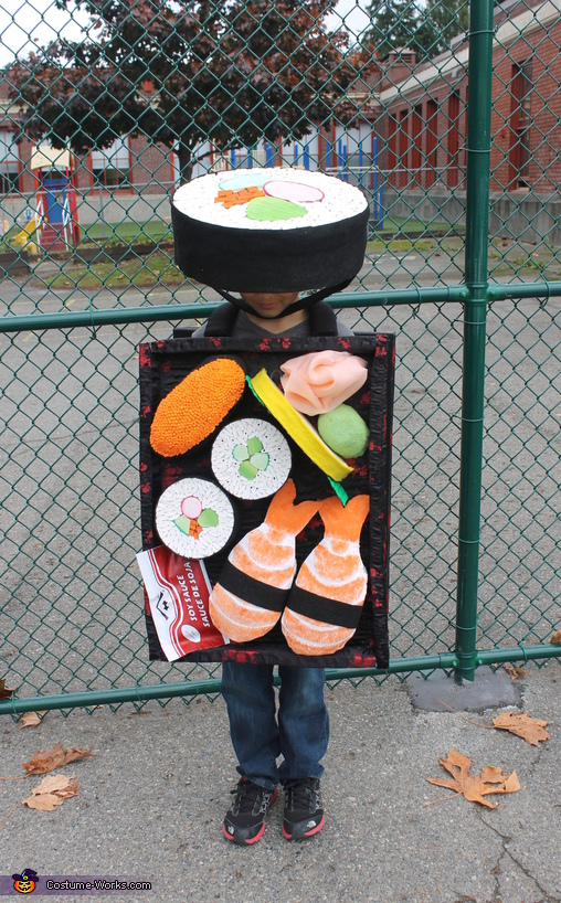 A Tip of the Sushi Hat, Hooray for Sushi Tray Costume