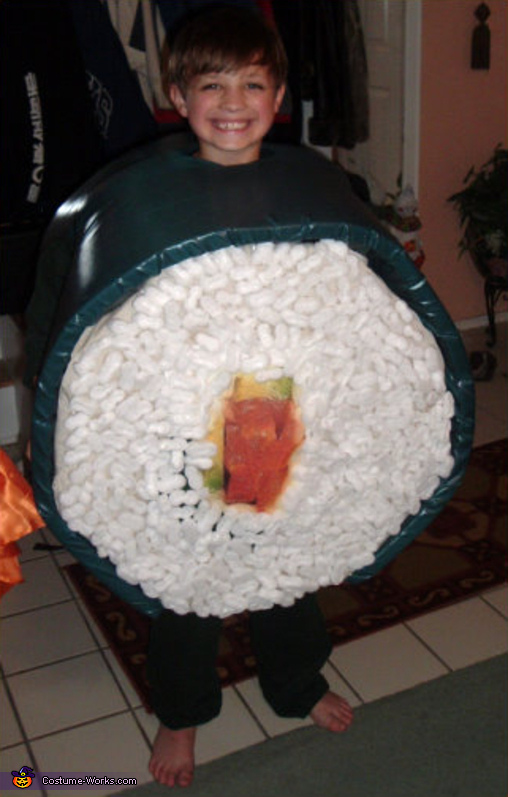 Sushi - Homemade costumes for boys