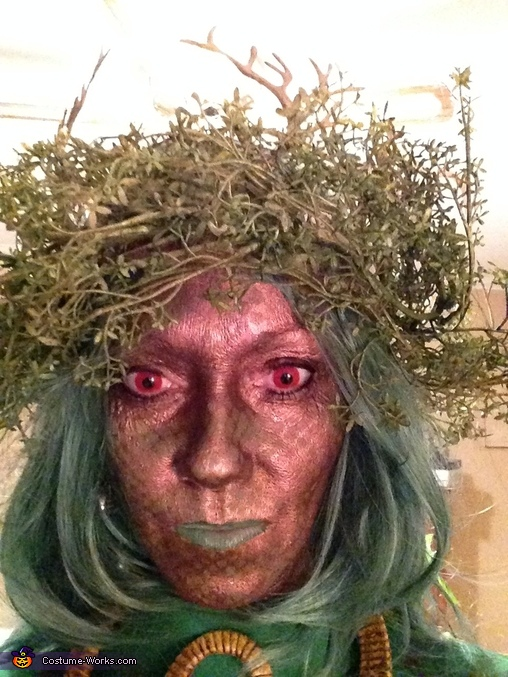 Bonnie close up, Swamp Creatures Couples Costume