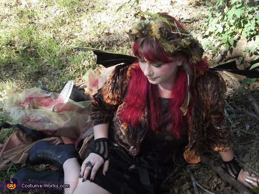 Swamp Fairy Homemade Costume
