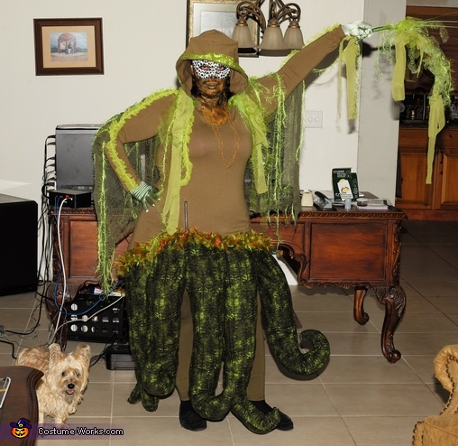 Swamp Monster Costume