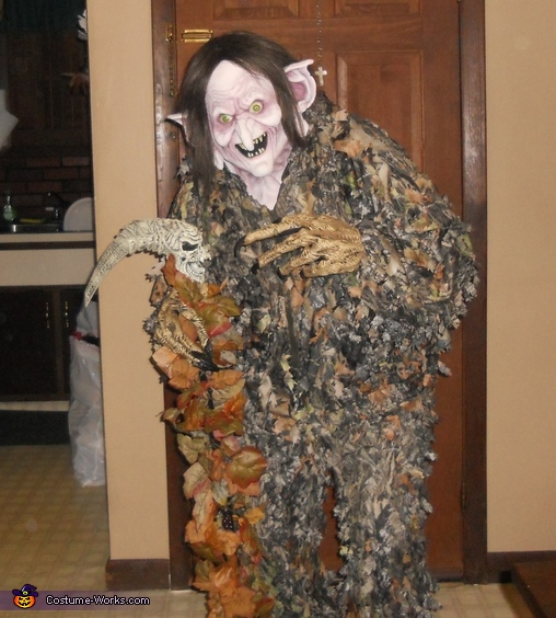 Homemade Swamp Witch Costume
