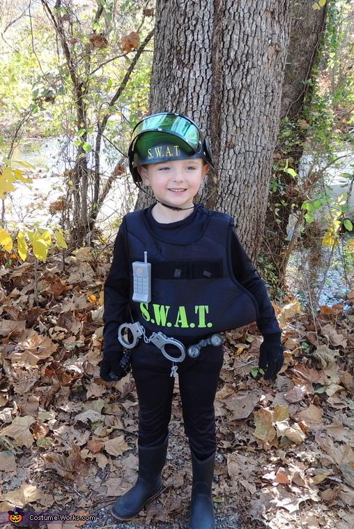 SWAT Member Costume