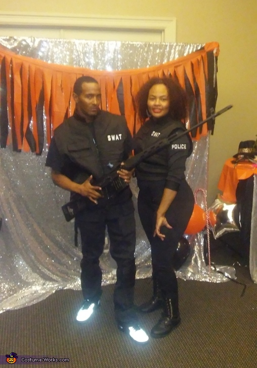 Swat Team Costume