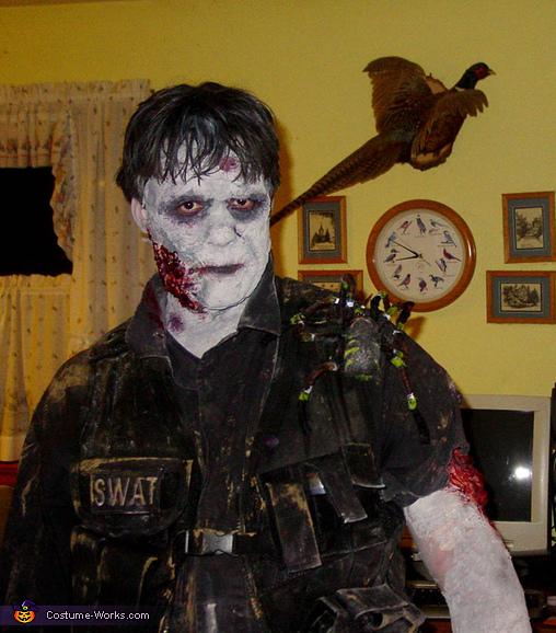 SWAT Zombie Costume