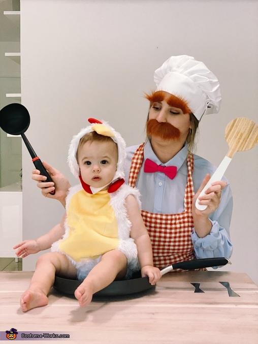 Swedish Chef & Chicken Costume