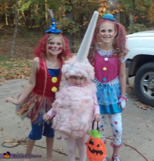 DIY Sweet Cotton Candy Costume