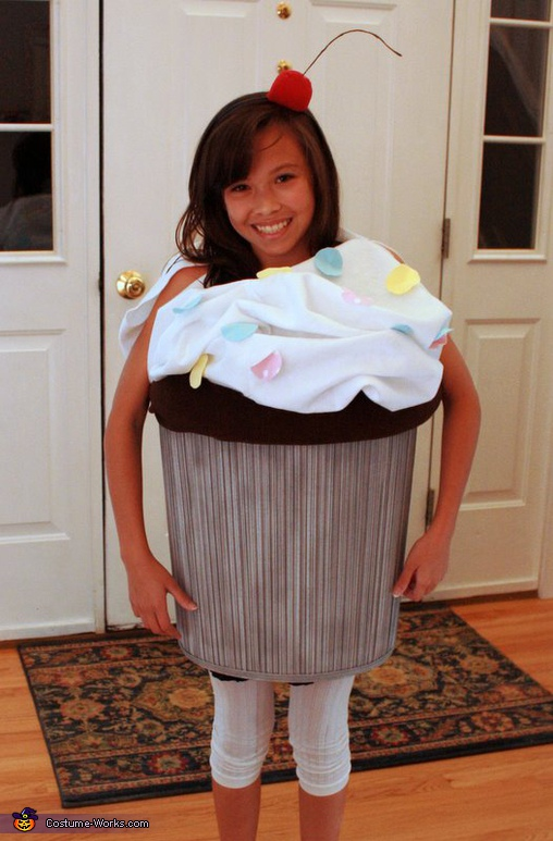 Sweet Cupcake - Homemade costumes for girls
